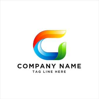 Buchstabe g logo design