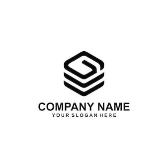 Buchstabe g logo vektor