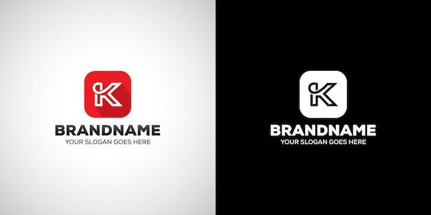 Buchstabe k-logo