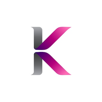 Buchstabe k und buchstabe v logo