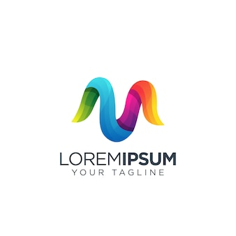 Buchstabe m-logo