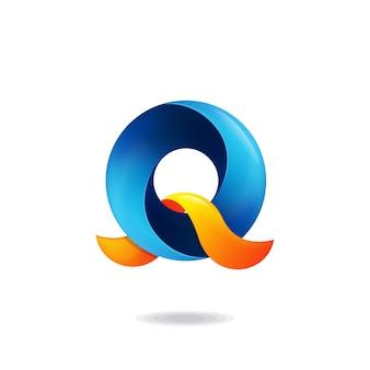 Buchstabe q-logo