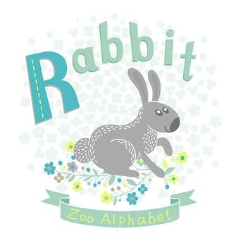 Buchstabe r - kaninchen