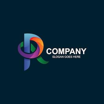 Buchstabe r logo design