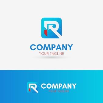 Buchstabe r logo