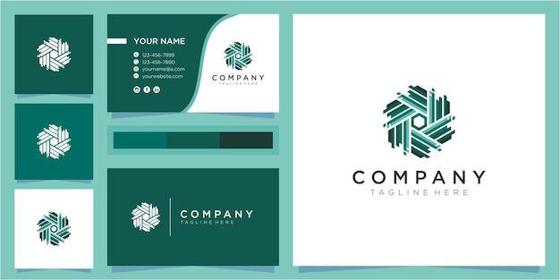 Buchstabe w logo design-konzept. inspirationen für das design von community-logos. buntes gemeinschaftslogoentwurf mit visitenkarte