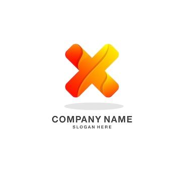 Buchstabe x-logo