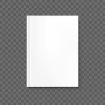Buchumschlag auf transparentem hintergrund. und beinhaltet auch