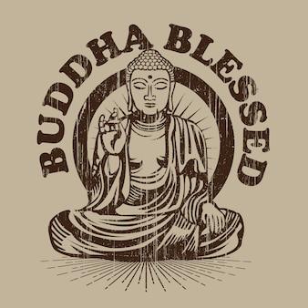 Buddha gesegnet