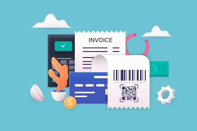 Budgetmanagementkonzept wirtschaftshintergrund mit brieftasche und taschenrechner