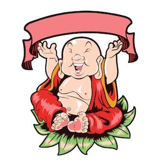 Budha glücklich