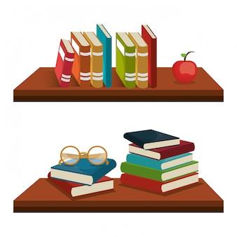 Bücher lesen design