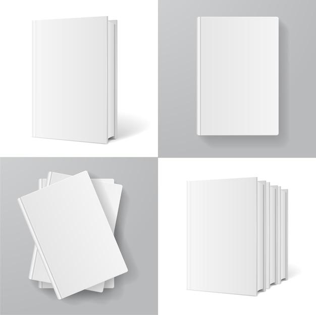 Bücher-vorlagen-set