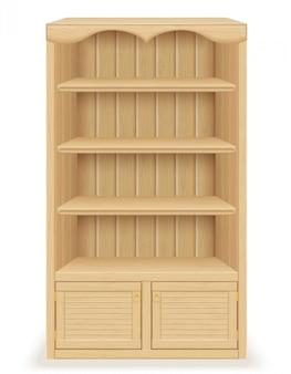 Bücherregalmöbel aus holz
