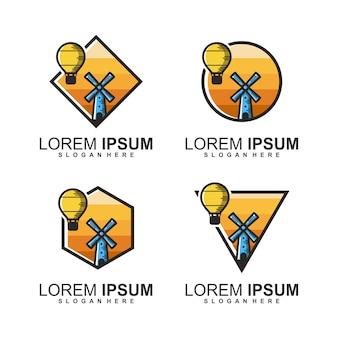 Bündel windmühlen logo