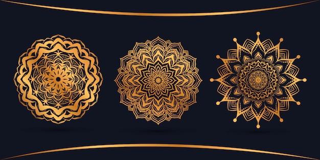 Bündeln sie luxus-mandala-design