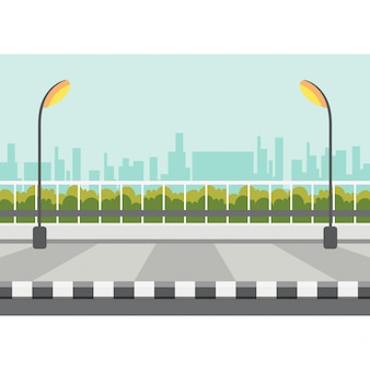 Bürgersteig vektor