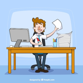 Büro arbeiten
