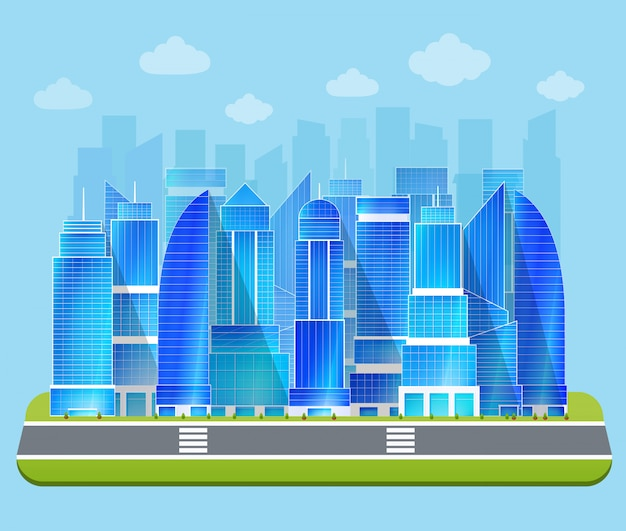 Büro industriestadtbild