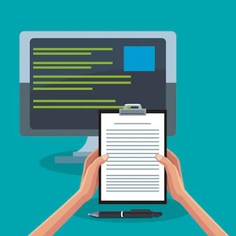 Büro und technologie