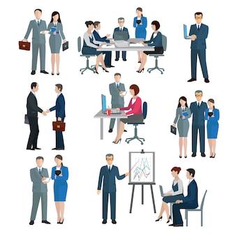 Büroangestellte arbeitsgruppe