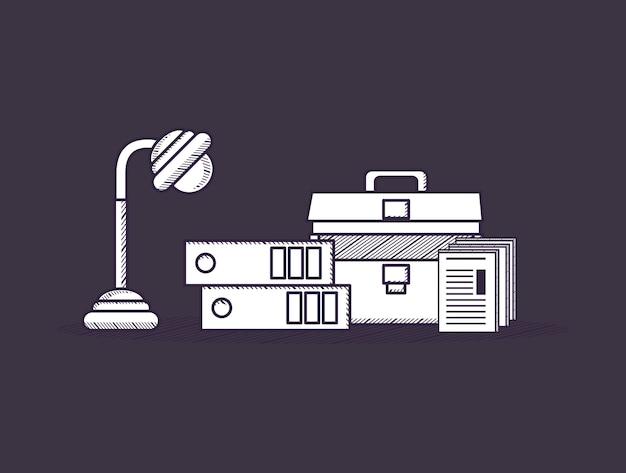 Bürobedarf design