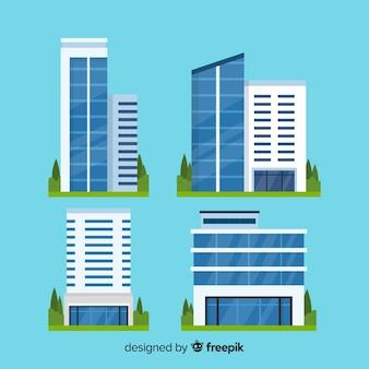Bürogebäude festgelegt