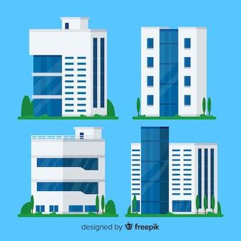 Bürogebäude sammlung
