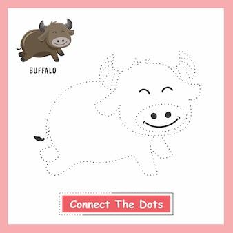 Buffalo draw verbinde die punkte