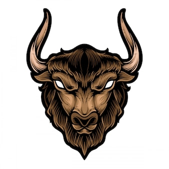 Buffalo kopf