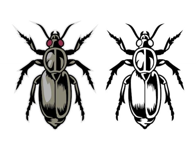 Bugs cartoon vektor