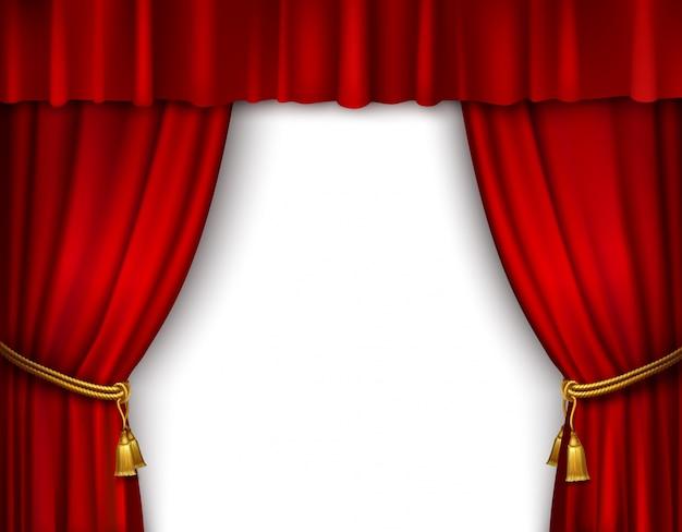 Vorhang Theater Galerie : Vorhang raster u stockfoto hildebrand roter