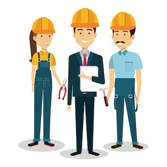 Builder gruppe avatare