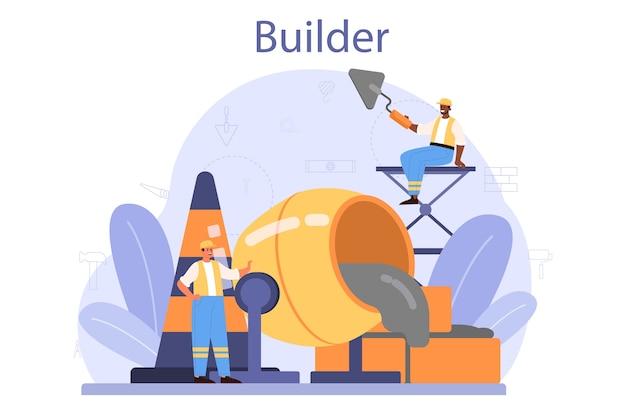 Builder-konzept.
