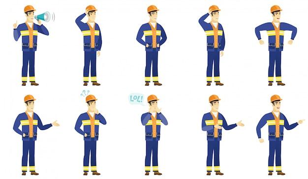 Builder-zeichensatz.