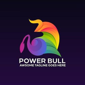 Bull buntes logo