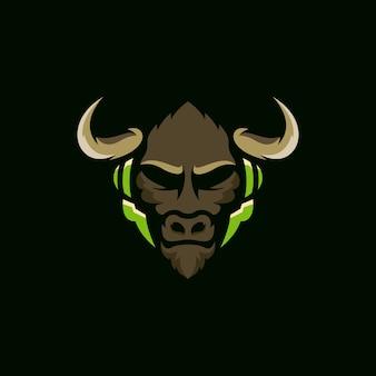 Bull logo esport