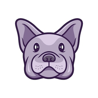 Bulldogge französischer hund