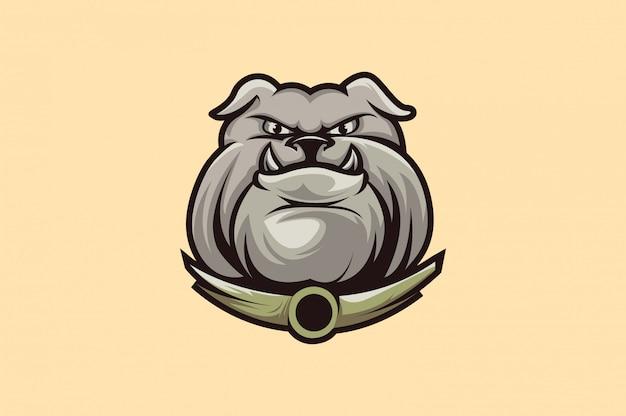 Bulldogge logo sport