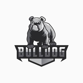 Bulldoggenlogodesign