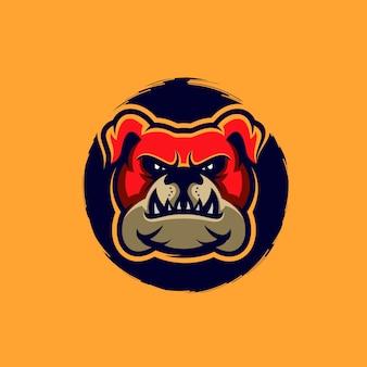 Bulldoggenlogoillustration