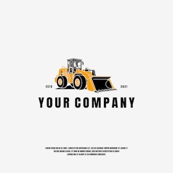 Bulldozer logo vorlage