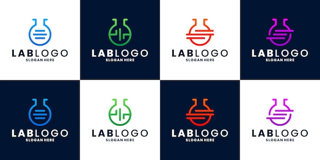 Bundle-labor-logo-design-vektor