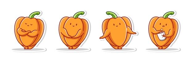 Bundle set pose cute von paprika