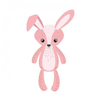 Bunny of teddy für die babyzimmerdekoration