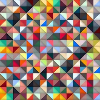 Bunt geometrisch