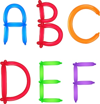 Bunt vom alphabet