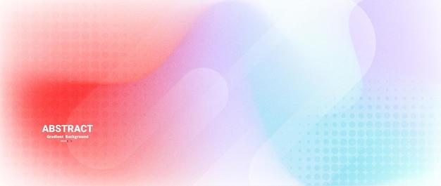 Bunte abstrakte hintergrund mit farbverlauf verwischen
