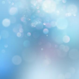 Bunte abstrakte lebendige unschärfe-bokehkreise im hintergrund der weichen farbart. glitzer urlaub lila blau rosa vorlage. luxuriöse natürliche textur.
