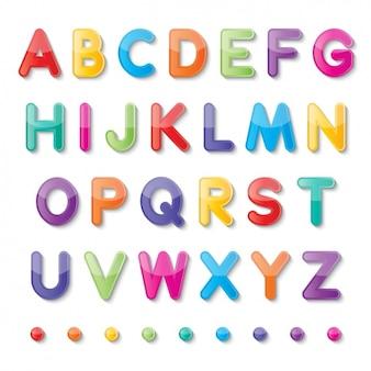 Bunte alphabet